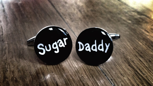 Cufflinks for Sugar Daddy