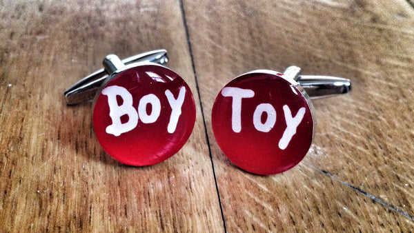 Boy Toy Gigolo Cufflinks
