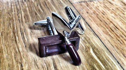 Get Laid Bricklayer Cufflinks