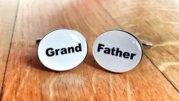 Cufflinks for Grandparents