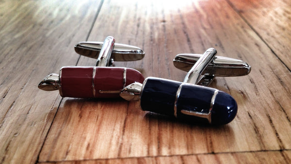 Fountain Pen Writer Cufflinks