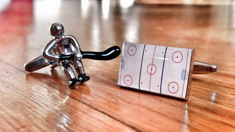 Cufflinks for Ice Hockey Fans