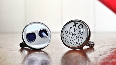 Cufflinks for Optometrists & Ophthalmologists