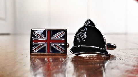 British Bobby Cufflinks
