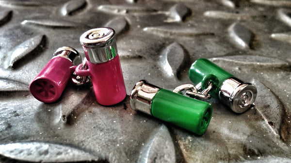 Trigger Happy Shotgun Shell Cufflinks