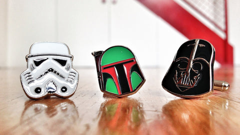 Star Wars Dark Side Cufflink Set