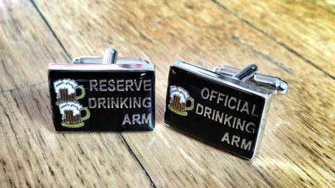 Heavy Drinker Cufflinks