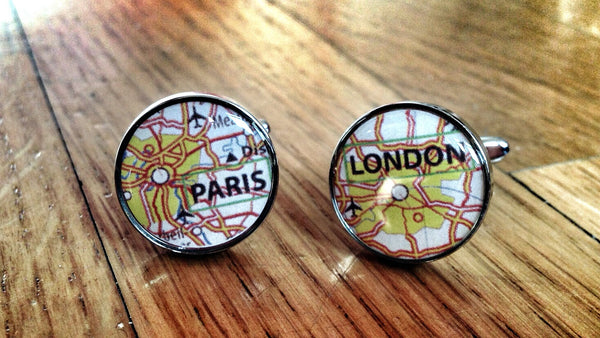 FCUK Paris London Cufflinks