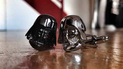 Double Trouble Darth Vader Cufflinks
