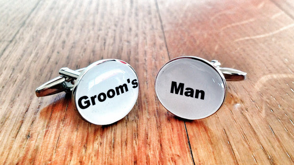 Groom's Man Cufflinks