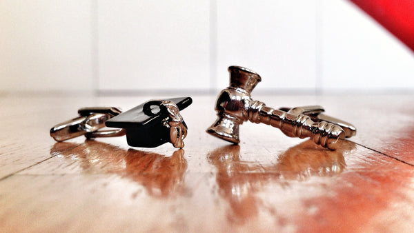 Law School Graduation Cufflinks