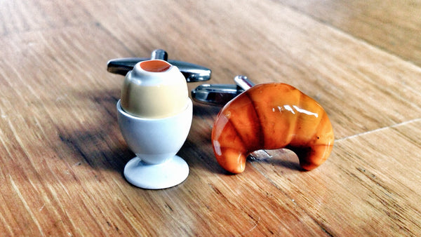 Time for a Healthy Breakfast Cufflinks