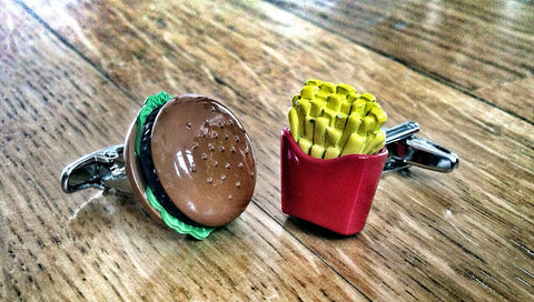 Cufflinks for American Foodie