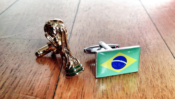 2014 FIFA World Cup Brazil Cufflinks