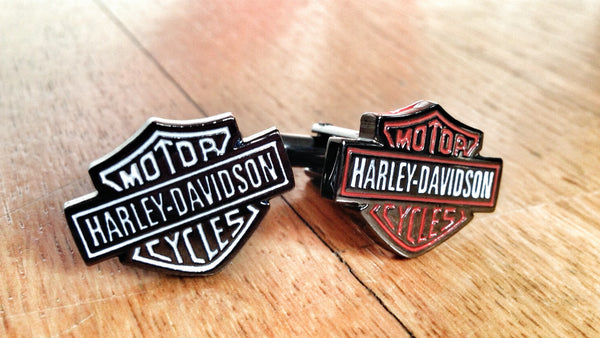 Harley-Davidson Motor Cycle Cufflinks