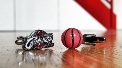 Cleveland Cavaliers Basketball Fan Cufflinks