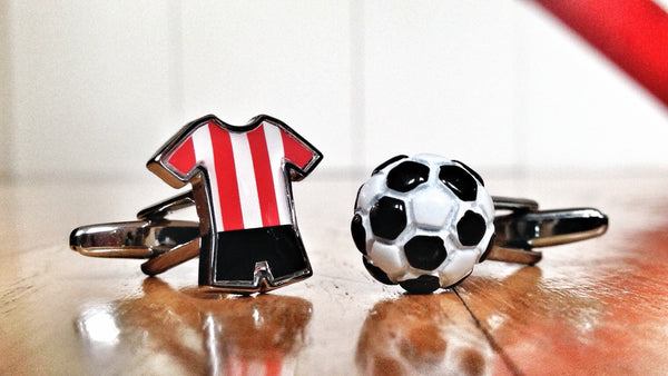Cufflinks for Football Soccer Players & Fans