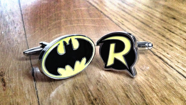 Batman & Robin Dynamic Duo Cufflinks