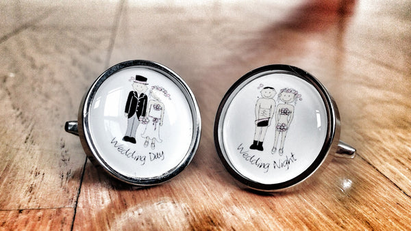 Wedding Night Fun Cufflinks