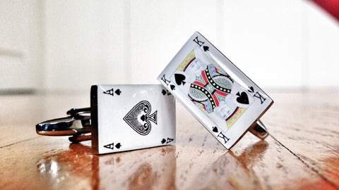 House of Cards Cufflinks
