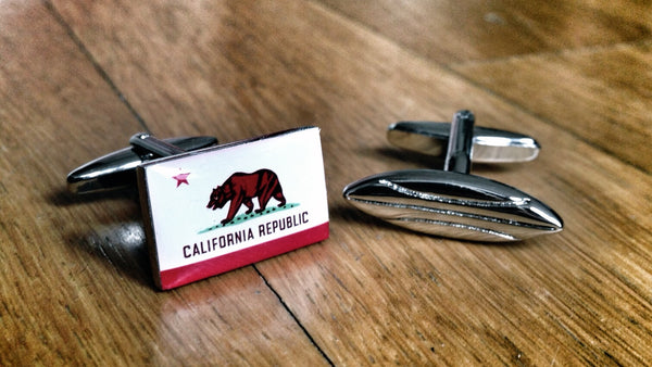 Cufflinks for Californian Surfer
