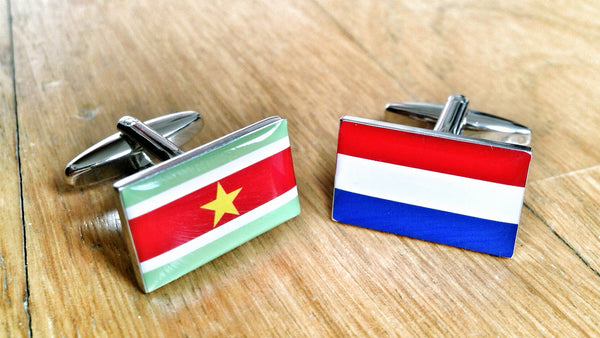 Dutch Suriname Cufflinks