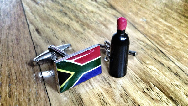 South African Wine Snob Cufflinks