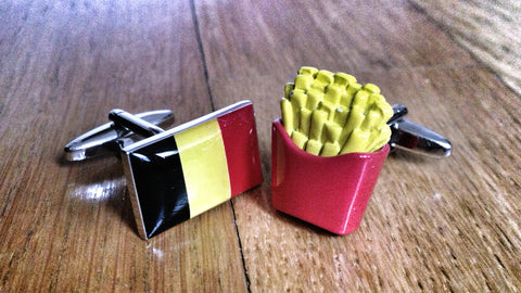 Belgian Fries Cufflinks