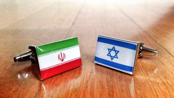 Iran vs Israel Cufflinks