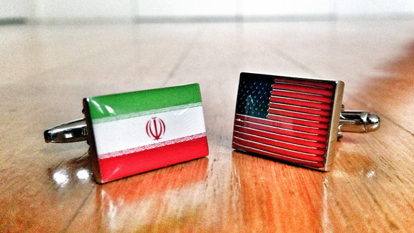 Iran vs USA Cufflinks