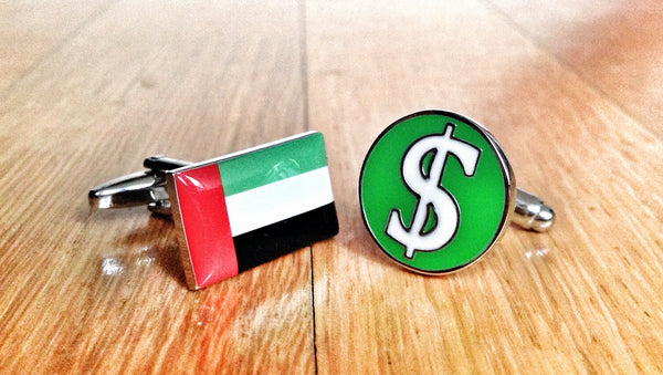 Strike it Rich in the UAE Cufflinks