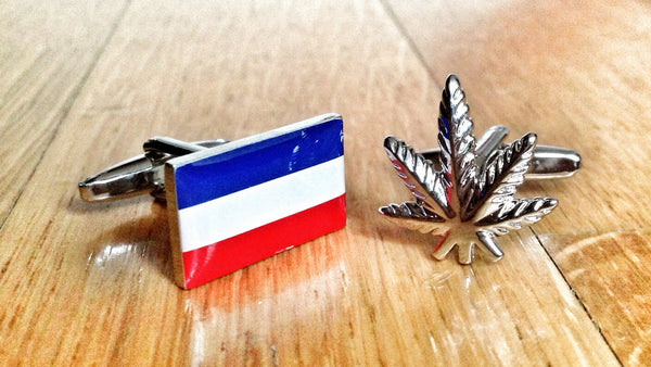 Tourist Attraction of the Netherlands Cufflinks