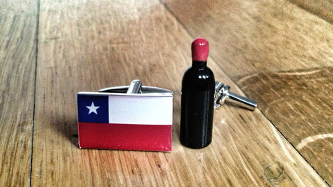 Chilean Wine Snob Cufflinks