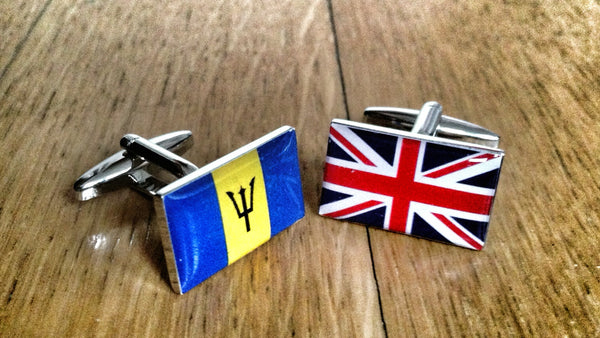 Time to Blow My Life Savings in Barbados Cufflinks