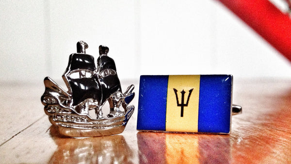 Pirates of the Barbados Caribbean Cufflinks