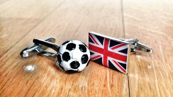 British Soccer Fan Cufflinks
