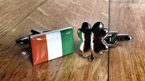 Irish Luck Cufflinks