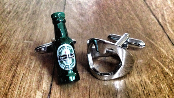 Cufflinks for Beer Connoisseur