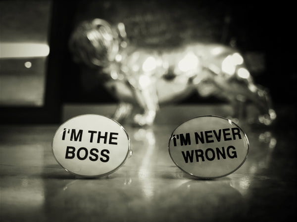 Badass Boss Cufflinks