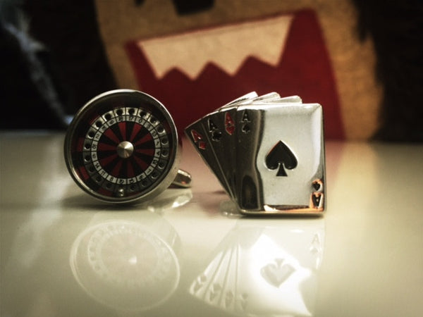 Gambling Addict Cufflinks