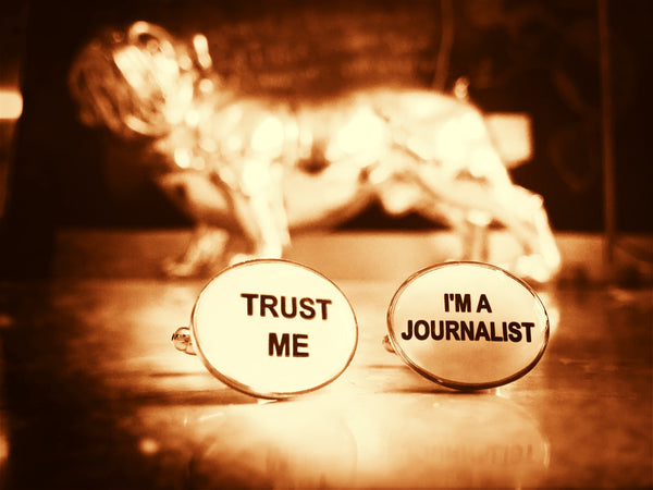 Trust me, I'm a Journalist Cufflinks