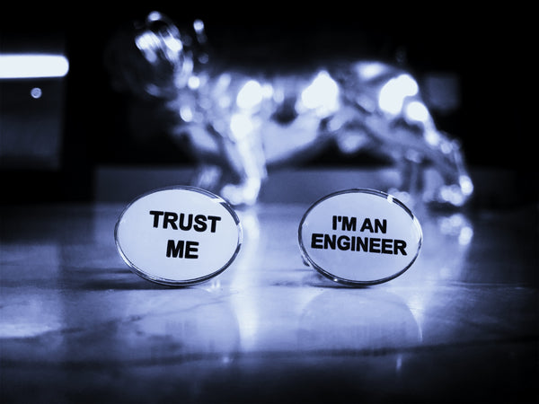 Trust me, I'm an Engineer Cufflinks
