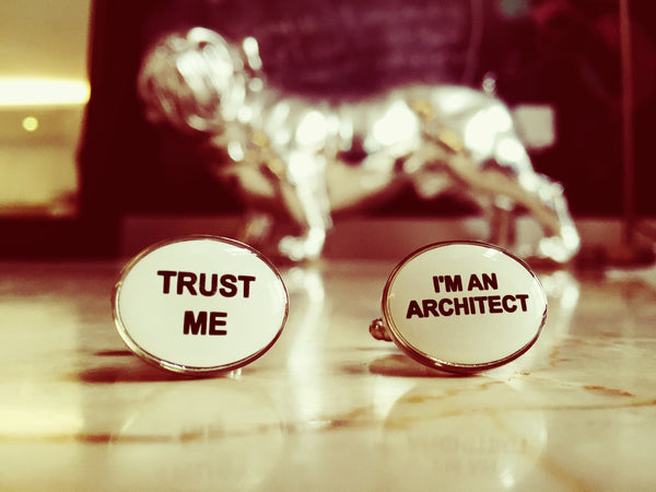 Trust me, I'm an Architect Cufflinks