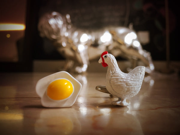 Chicken or the Egg Cufflinks