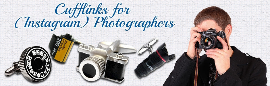 photographer cufflinks
