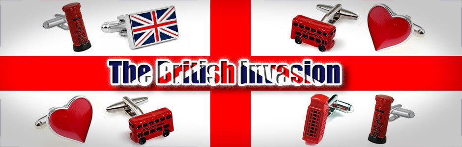 british invasion cufflinks