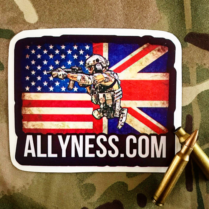Ally US & UK sticker