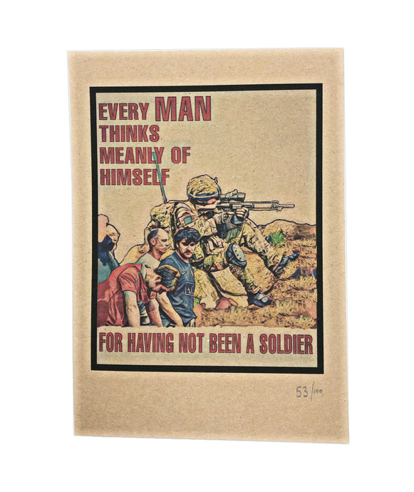 Every Man A Soldier Print