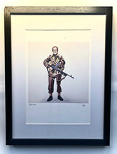 "Load image into Gallery viewer, ""The Duke"" Framed Artwork"