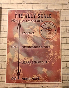 The Ally Scale Training Aid